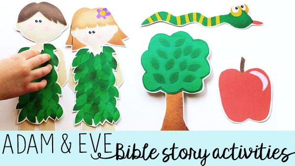 Adam and Eve Story for Kids - Keeping Life Creative