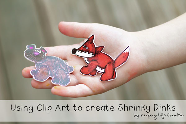 photograph about Shrinky Dinks Printable referred to as Getting Clip Artwork toward Acquire Shrinky Dinks - Maintaining Everyday living Resourceful