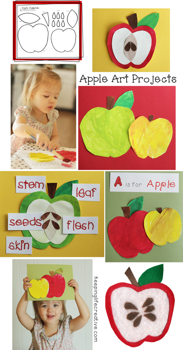 apple art projects