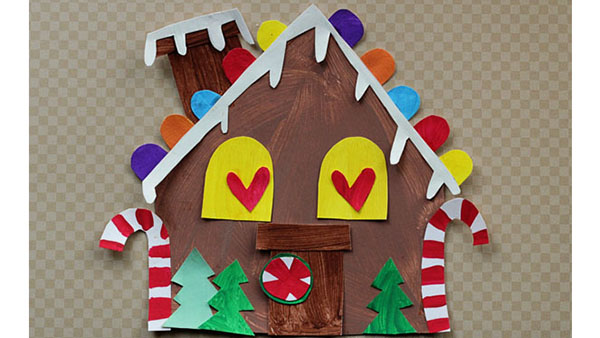 graphic about Printable Gingerbread House named Printable Gingerbread Space Craft - Retaining Lifestyle Artistic