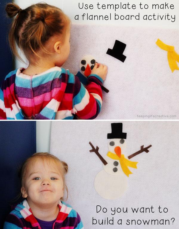 L snowman