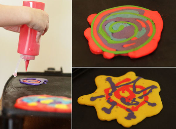 Homeschooling with Pancake Art