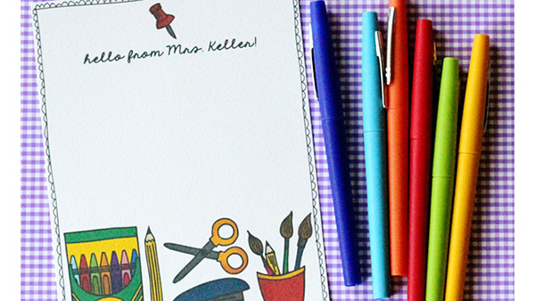 Using Clip Art to Create Stationary