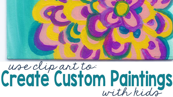 How to Create Custom Paintings Using Clip Art