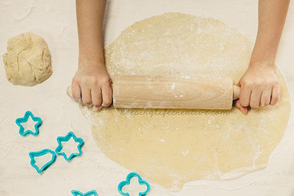 Christmas Cookie Play Dough