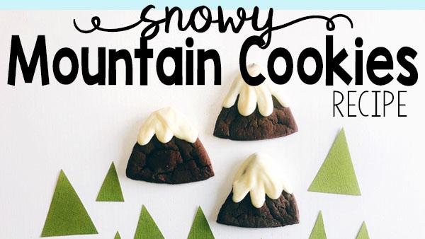 Snowy Mountain Cookies Recipe