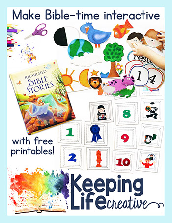 Printable Bible stories by Keeping Life Creative