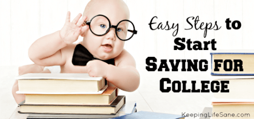 Easy Steps to Start Saving for College
