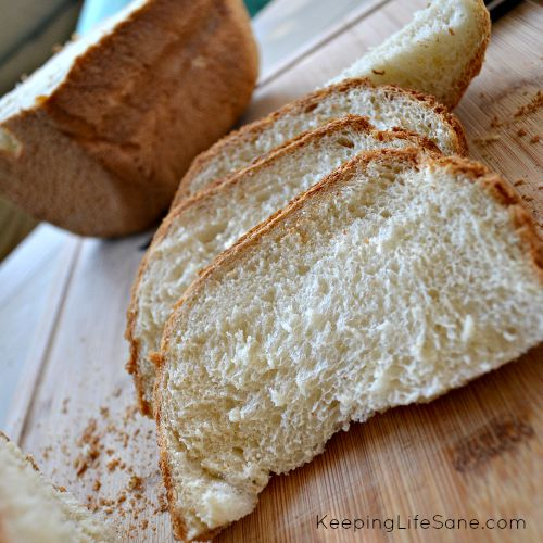 Bread Maker Sandwich Bread