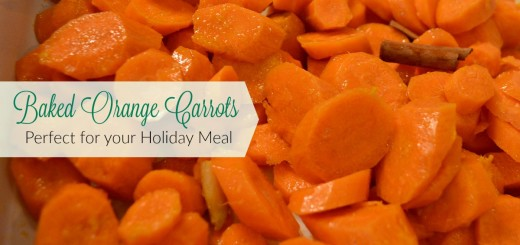 Baked Orange Carrots