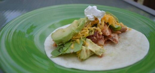 Quick and Tasty Chicken Soft Tacos