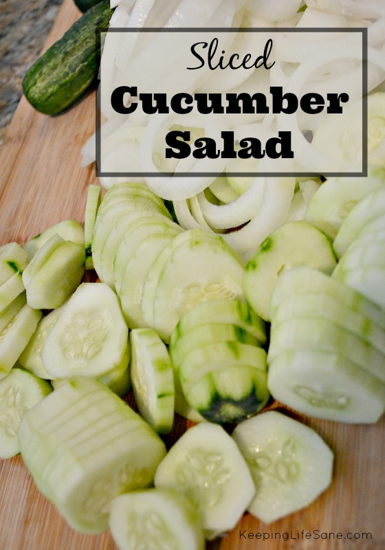 The BEST Cucumber Salad