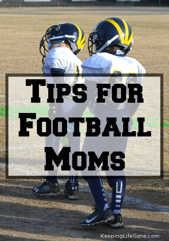 Are you ready for some football? Here are some great tips for football moms that you need to save. They will make your life much easier.