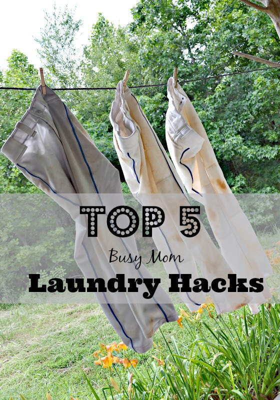 Top 5 Busy Mom Laundry Hacks