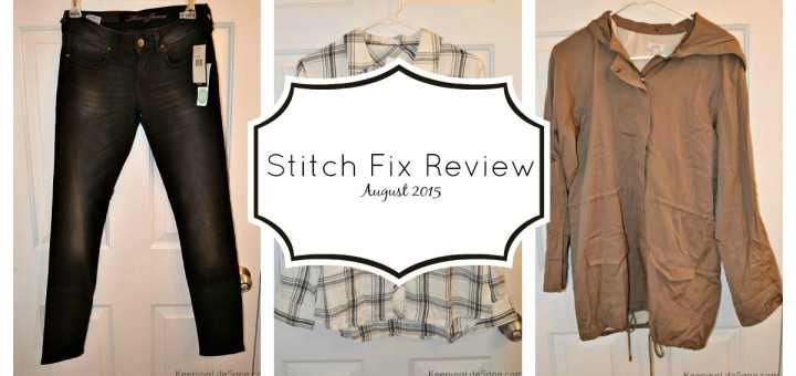 Stitch Fix Review- August 2015
