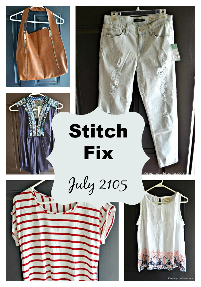 Stitch Fix Review- July 2015
