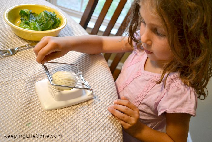 The trick to get your kids to eat salad.