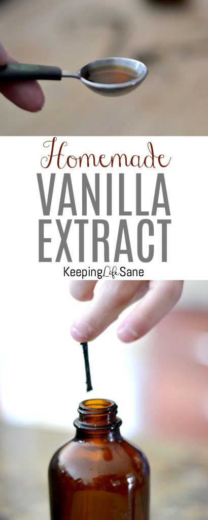 You may be wondering how to make homemade vanilla extract. It's so simple and using only 2 ingredients, you can have your own for baking or gift giving. #Vanilla #homemadevanilla #Vanillaextract #homemadevanillaextract #Baking #BakingIngredients #GreatGifts #TeacherGift #Homemade