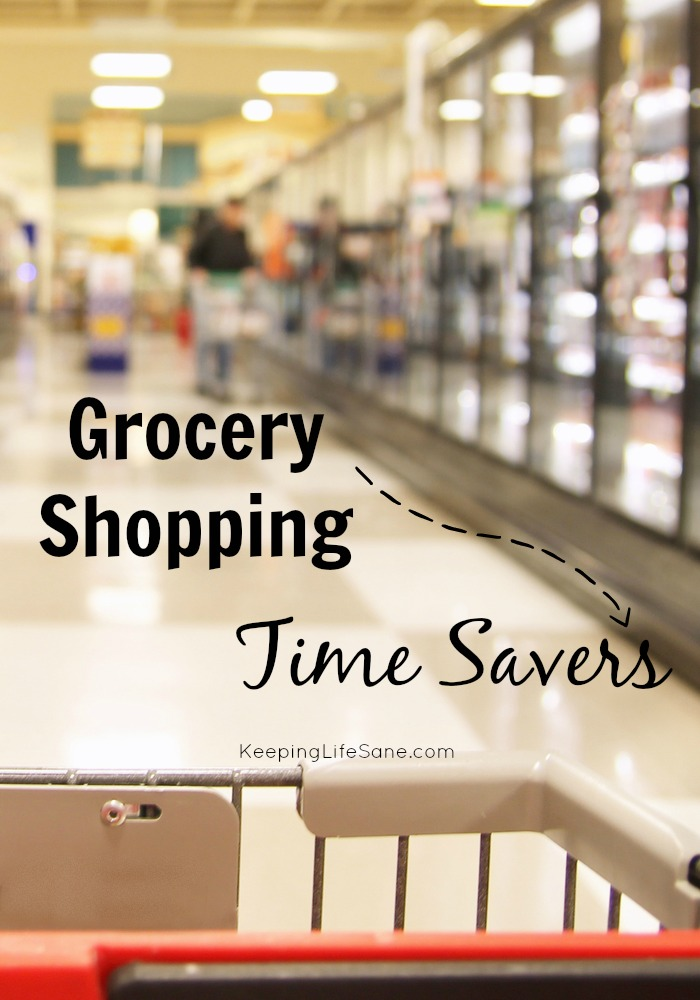 Who has time to waste at the grocery store? Try these tips so you don't spend all your time roaming the aisles. Grocery Shopping Time Savers