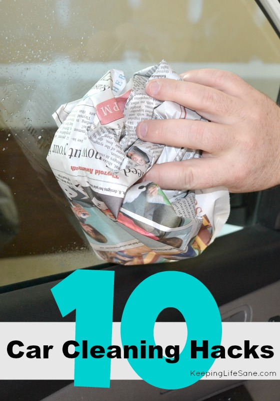 10 Car Cleaning Hacks