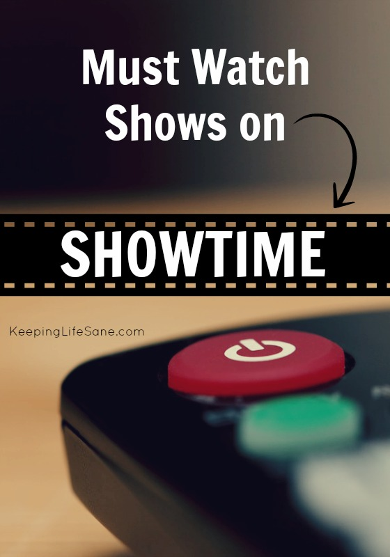 I am always looking for a new show to watch. I don't like commercials so I love streaming online. Here are some shows on Showtime that you need to watch!
