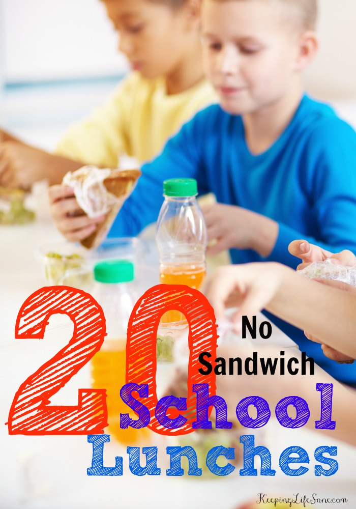 Easy Lunches For Kids