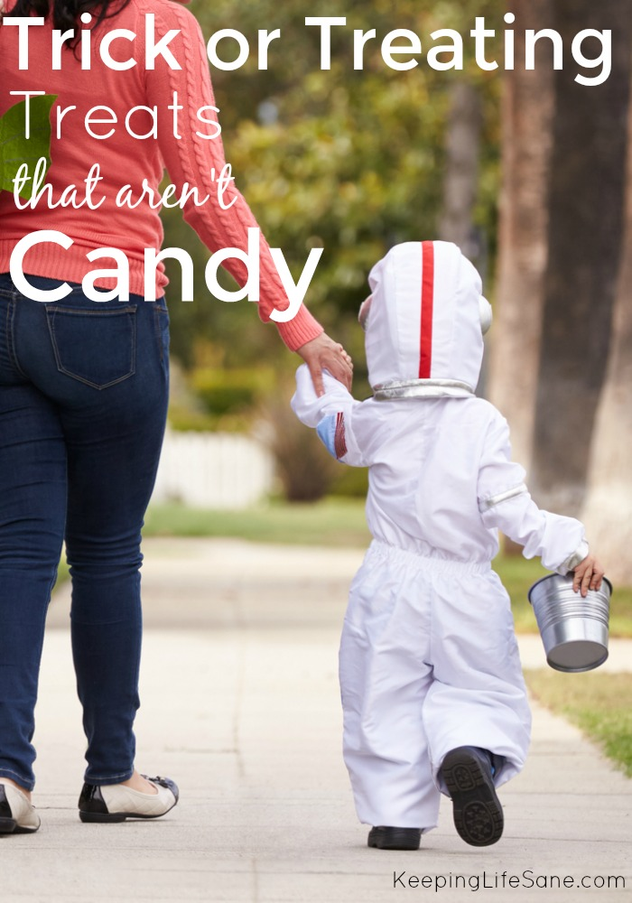 Trick or Treating Treats that aren't CANDY