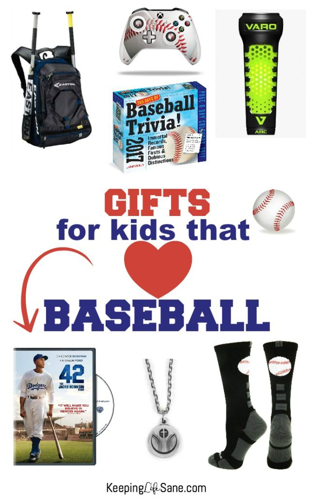 I have a son that loves baseball and buying him something baseball related is the perfect gift. Check out this GREAT list of baseball gifts any kids will love.