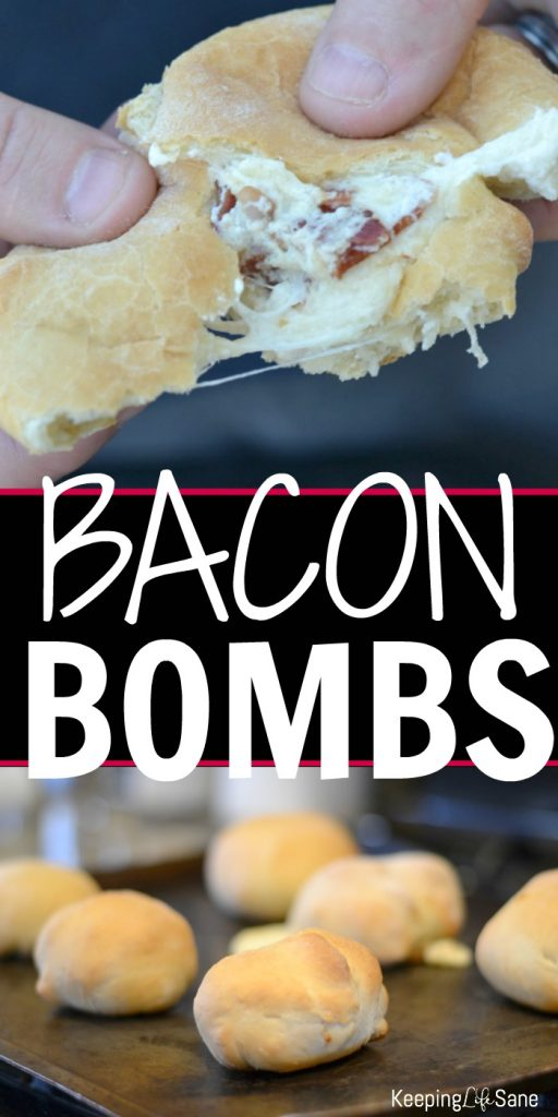 You are going to love these bacon bombs. They are a hit on pizza night or any party! You HAVE to try them! They are the BOMB!