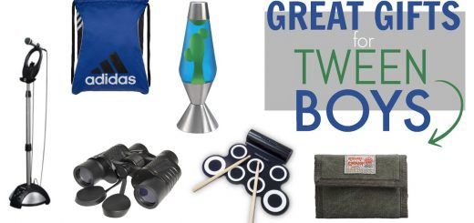 Tweens can be tough to buy for. Here's a great list of OVER 30 items your tween BOY will love!