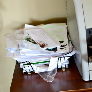 Is your office a mess? I save my office spring cleaning until the end. Here are some great office organization tips.
