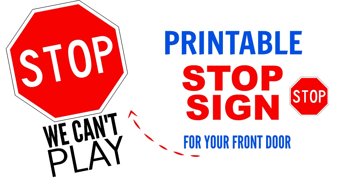 It is an image of Impertinent Printable Picture of a Stop Sign