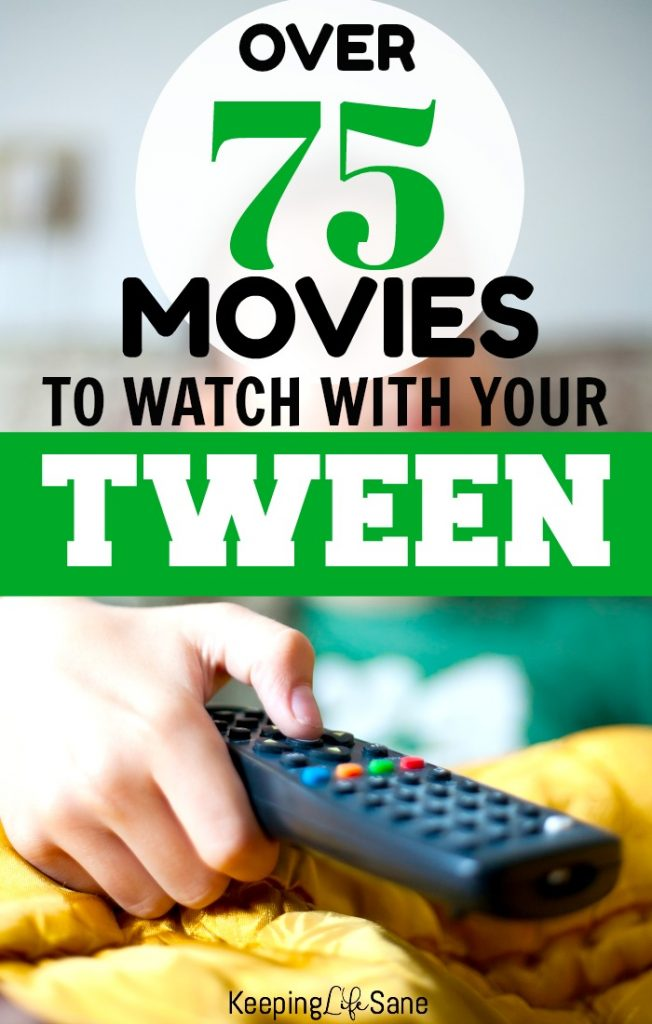 Does your family like having movie night? Here are some great movies for tweens that you will enjoy too. Grab the popcorn!