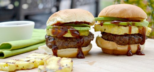 These grilled Hawaiian sliders are perfect for summer. If you are tired of the same old burger, this is a great change that's easy to do. Grilled pineapple is the BEST!