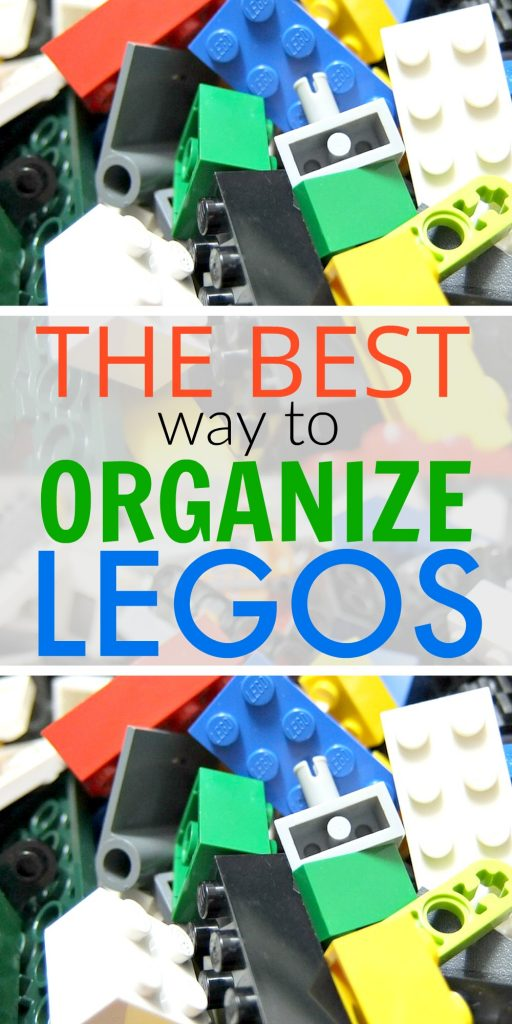 A great way to organize your Legos. It works!