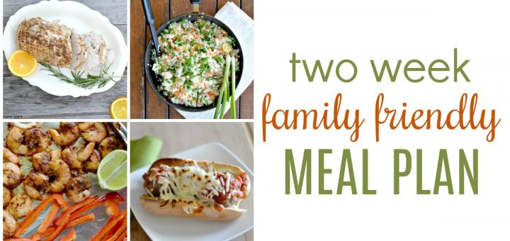What are you feeding your family this week? Hop on over and grab this two week dinner meal plan that your kids are sure to love. It will save you tons of time and money!