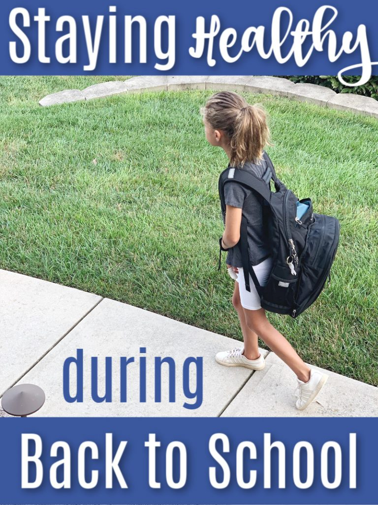 Going back to school and sitting in the classroom also means being exposed to germs. Get these great tips on staying healthy during back to school.