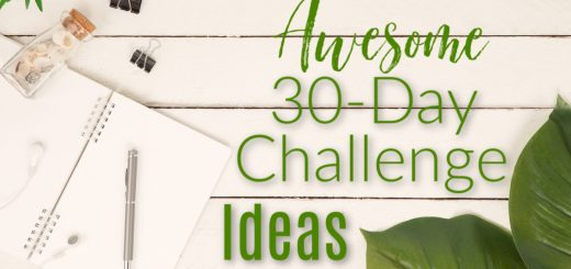 Looking to get back on track or start a new good habit? Start a challenge! Here's a great list of 30 day challenge ideas for you to try.
