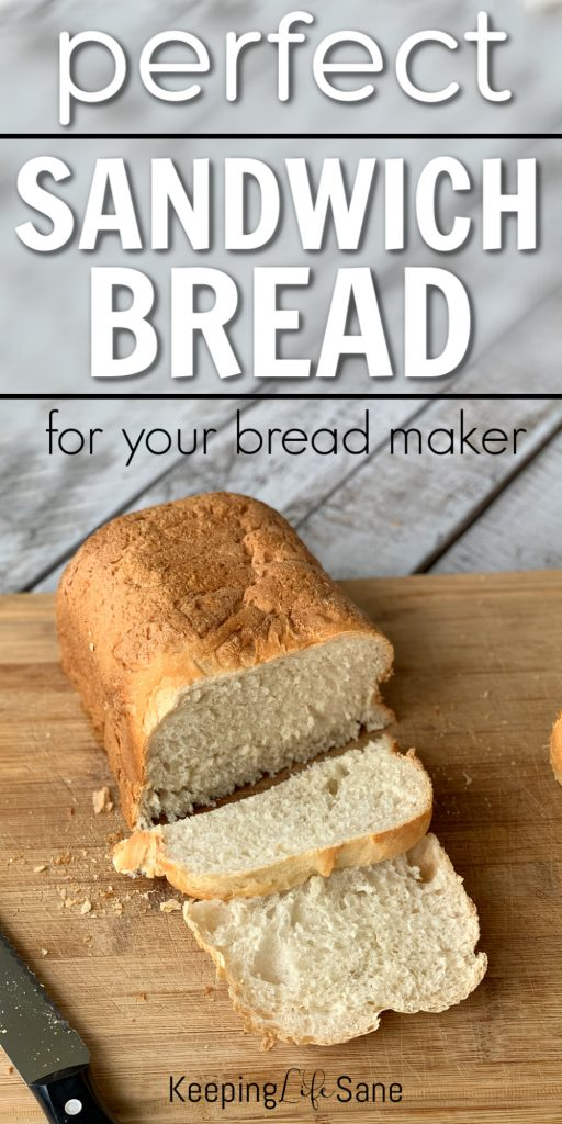 How to make bread. Here's a great recipe for easy sandwich bread you can make with your bread maker. You'll never go back to store bought.