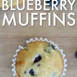 My kids loves these DELICIOUS eggless blueberry muffins. They are perfect for breakfast or a quick after school snack. NO eggs needed.