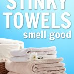 You've all left clothes in the washer way to long and they've gotten that horrible smell. Read here to learn about how to get the smell out of moldy towels.
