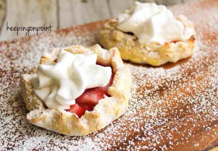 Weight Watchers Strawberry Galette 5