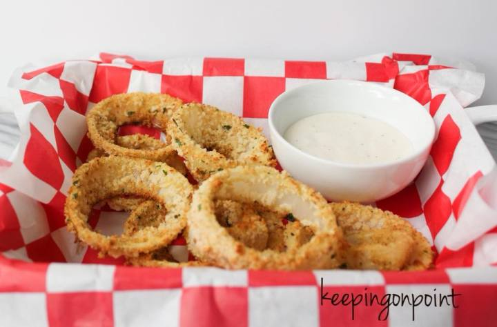 Weight Watchers Baked Onion Rings 3