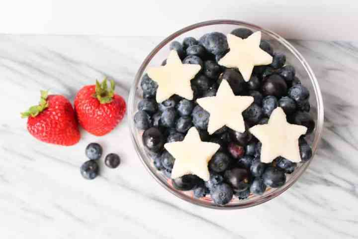 Weight Watchers Fourth of July Fruit Salad 2