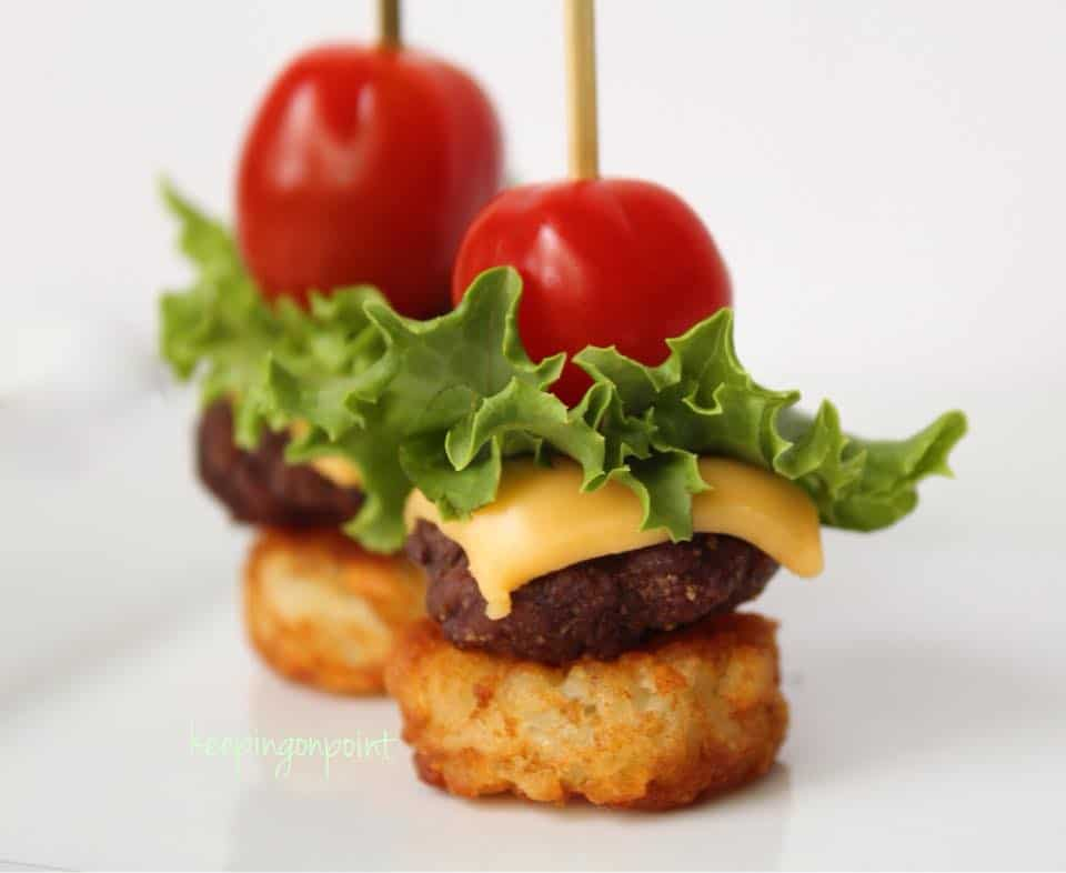 Weight Watchers Mini Cheeseburger Bites 4