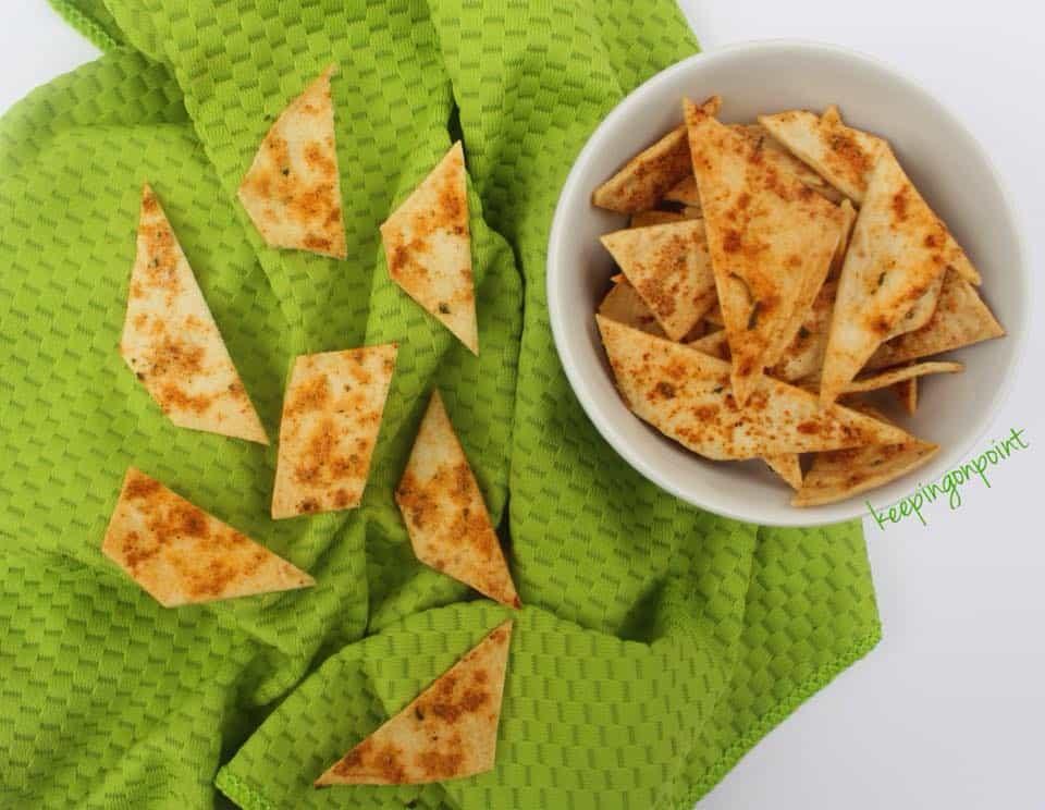 Weight Watchers Baked Cool Ranch Tortillas