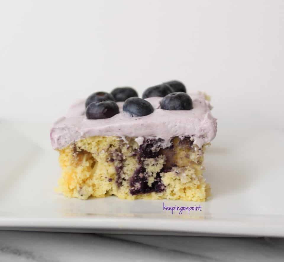 Weight Watchers Blueberry Swirl Cake 16