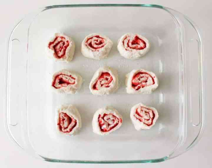 Weight Watchers Strawberry Roll 2