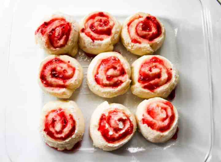 Weight Watchers Strawberry Roll 7