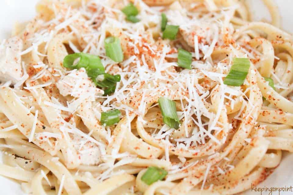 Weight Watchers Cajun Chicken Pasta 3